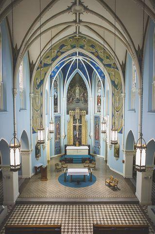 St. Clare's Chapel Interior