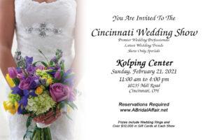 Kolping Center Bridal Show Invite